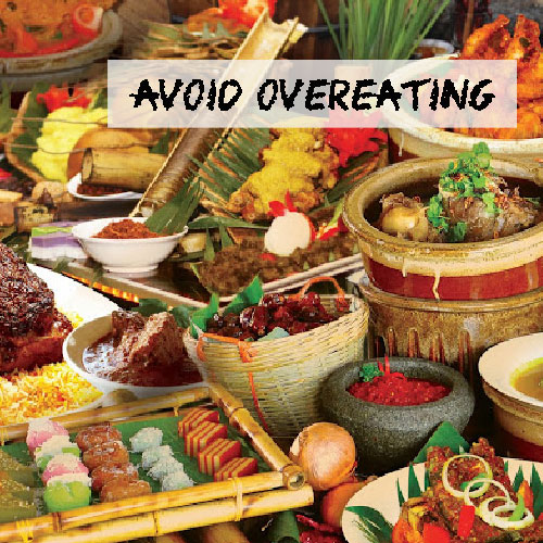6 Strategies To Avoid Overeating During Holidays
