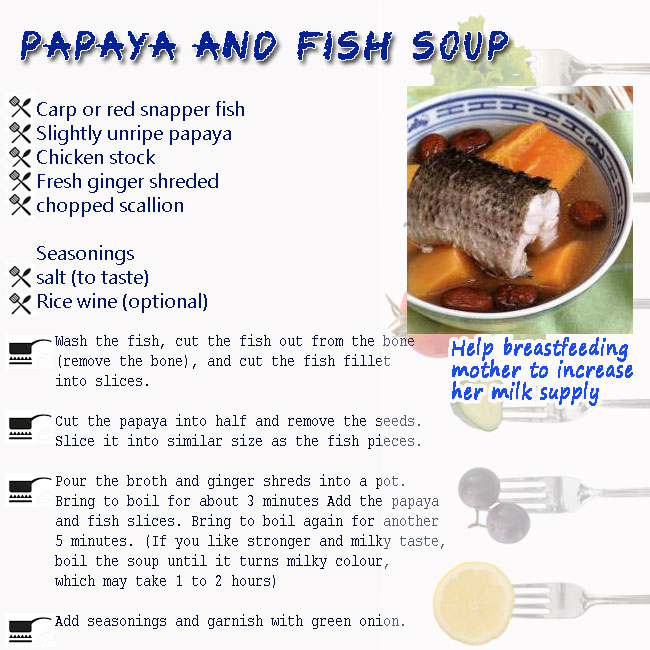 shaklee-confinement-papaya-and-fish-soup-recepie