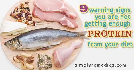9 warning signs you are not getting enough protein from your diet ...