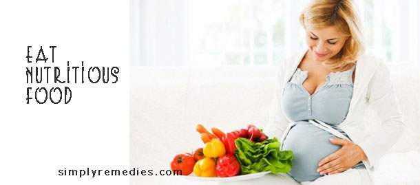 8-steps-to-develop-baby-intelligence-while-in-the-womb-Eat-nutritious-food