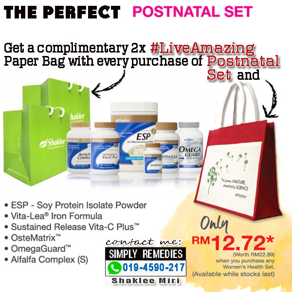 postnatal-set-shaklee-complimentary-and-purchase-with-purchase