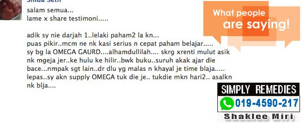 omega-guard-testimonial-anak-bijak-shaklee-miri