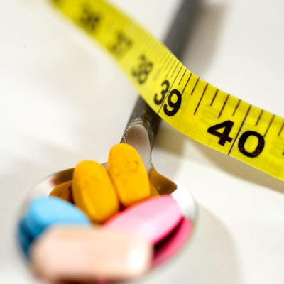 Side effect of unlicensed slimming pills