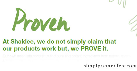 shaklee-product-proven